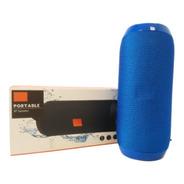 Parlante Bluetooth Portatil Usb Inalambrico Azul