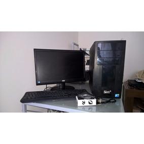 Pc Monitor Aoc 18,5 Polegadas Processador Atlom
