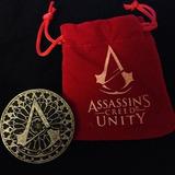 Moneda Unidad De Assassins Creed Con Funda De Terciopelo