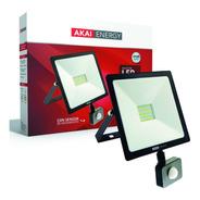 Reflector Con Sensor De Movimiento 30w Luz Fría Akai