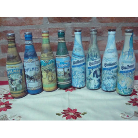 Botellitas De Cerveza Quilmes De Coleccion.