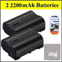 Pack De 2 Baterías Para Nikon 1 V1 D600 D800 D7000 D7100 Cá