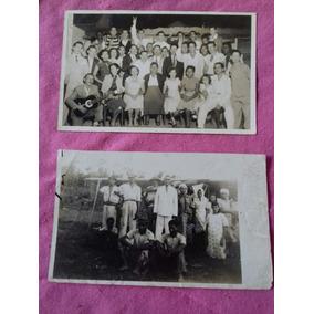 Fotos Antigas - 2 Fotos De Grupos