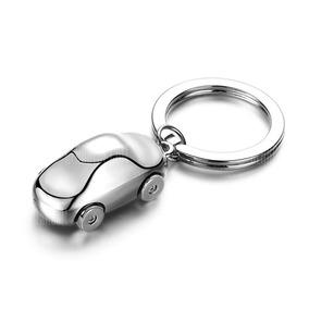 Chaveiro Carro 3d Luxo Cromado