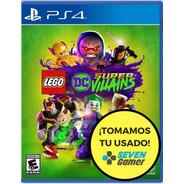 Lego Dc Super Villains Ps4 Fisico Sellado Nuevo Sevengamer
