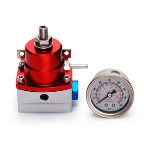 Dosador Combustível Billet 1:1 P/ Injetados C/ Manômetro Ver