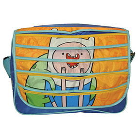 Adventure Time Maleta Messenger Finn Hora Aventura Cn Atm