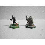 Lote 2 Figuras Sabertooth Señor De Los Anillos Saruman Orco