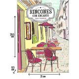 Libro Rincones C/ Encanto P/ Colorear, Relajar Anti Estres