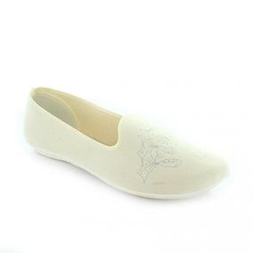 Mocasin Para Mujer Tovaco 2176-020958 Color Blanco
