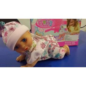 Muñeca Baby Lovely Ríe, Llora Y Gatea Juego Para Niñas