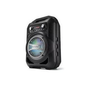 Caixa De Som Amplificada Led Bluetooth Mp3 Sd Mic