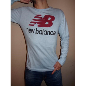 new balance manga larga