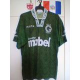 Camisa Goiás/go Finta 1995 De Jogo.