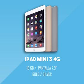 Ipad Mini 3 16 Gb 4g Plata Y Dorado Nuevo