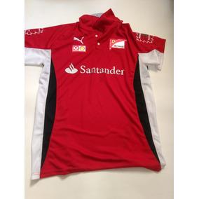 646a54e547 Camisa Polo Santander Formula1 Ferrari Puma Vermelha