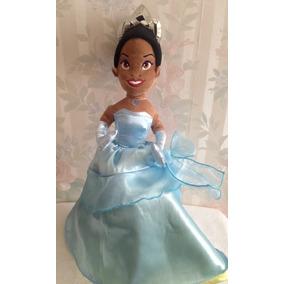 Princesa Tiana Con Doble Vestido, De Disney Store Original!