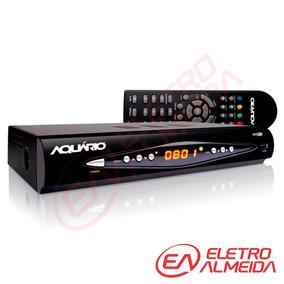 Conversor E Gravador Digital Full Hd Aquário - Dtv8000