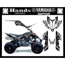 Adesivos 3m Quadriciclo Atv Yamaha Raptor 90 125 250 350 700