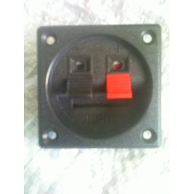 Conector Empotrable, Tipo Pulsador 5,6 X 5,6 Sonido,corneta.