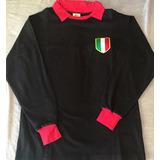 Camisa Milan Toffs 1950-1960 Mangas Longas Oficial