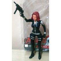 Viuva Negra Black Widow 15 Cm Marvel Vingadores Aventureiros