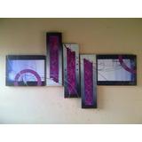 Cuadros Abstractos Modernos Decorativos Marcos Arte Pop Mdf