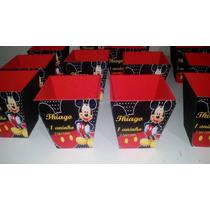 Cachepots De Mdf Lembrança De Aniversário Do Mickey