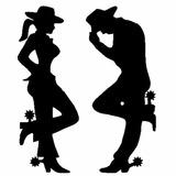 Skin Adesivo Country Cowboy Casal Carro E Moto
