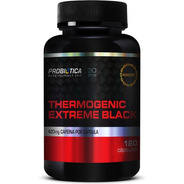 Thermogenic Extreme Black 420mg Cafeina 120caps - Probiotica