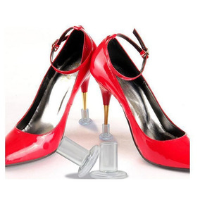 Sapato Protetor Salto Alto Redondo Apoio Largo- Grama