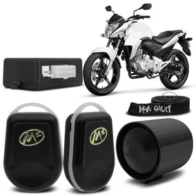 Alarme Moto New Shock Honda Cb 300 2009/15 Controle Presença