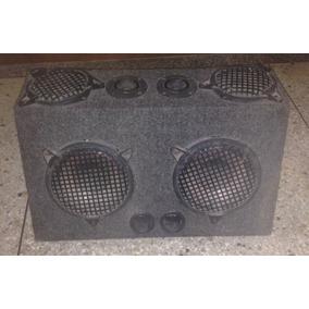 Cajón De Sonido+2 Bajo De 8+2 Medio De 6+2 Twister+cableado