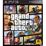 Gta 5 V Grand Theft Auto 5 Ps3 Digital || Hay Stock