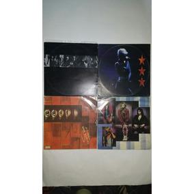 4 Lps Rock E Metal Somente Disco E Encarte Frete Grátis