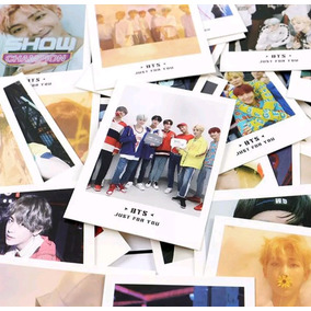Kit 45 Polaroids Bts Kpop + 120 Lomocards