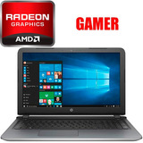 Notebook Hp Gamer Quad-core 4gb 500gb Radeon Tranza Uruguay