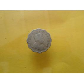 Moneda Antigua 1 Anna 1907 India Escasa Envio Gratis!!!