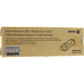 Tóner Xerox Amarillo - 1000 Páginas 106 Para Ph - 106r01600