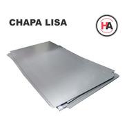 Chapa Lisa Laf #22 0,70 Mm 1 X 2 Mts - Laminado En Frio - Ha