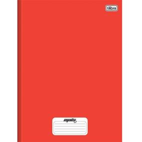 Caderno Linguagem Brochura 96 Folhas Capa Dura 116734 Vermel