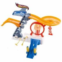 Hot Wheels Rinse And Race Lava Jato Rápido Track Set V06643