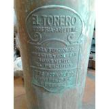 Antiguo Matafuego Bronce Cobre El Toro Correos Y Telegrafos
