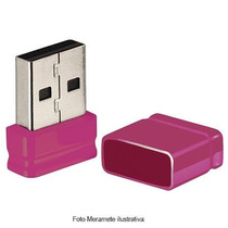 Pendrive Nano 8gb Pd063 Rosa Multilaser
