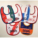 Baberos Futbol Boca River S Lorenzo Cai Racing Huracan Velez