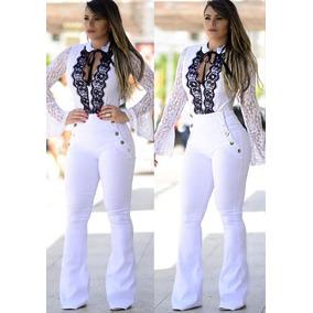 Calça Jeans Branca, Garanta A Sua, Enviamos Em 28 Dias