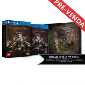 Sombras Da Guerra Ed.limitada Ps4 (pré Venda)