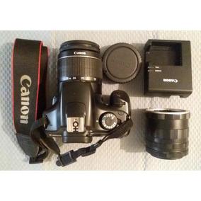 Camara Fotográfica Profesional Canon Eos T3