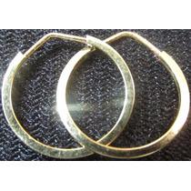 Brinco Ouro Amarelo 18k 750 Argola 0.4gr Christianjoiasnet