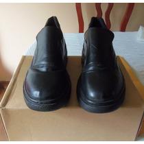 Zapatos Casual Colegial Negros Talla 42